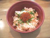 丼(どんぶり)屋台 鮭とイクラ丼